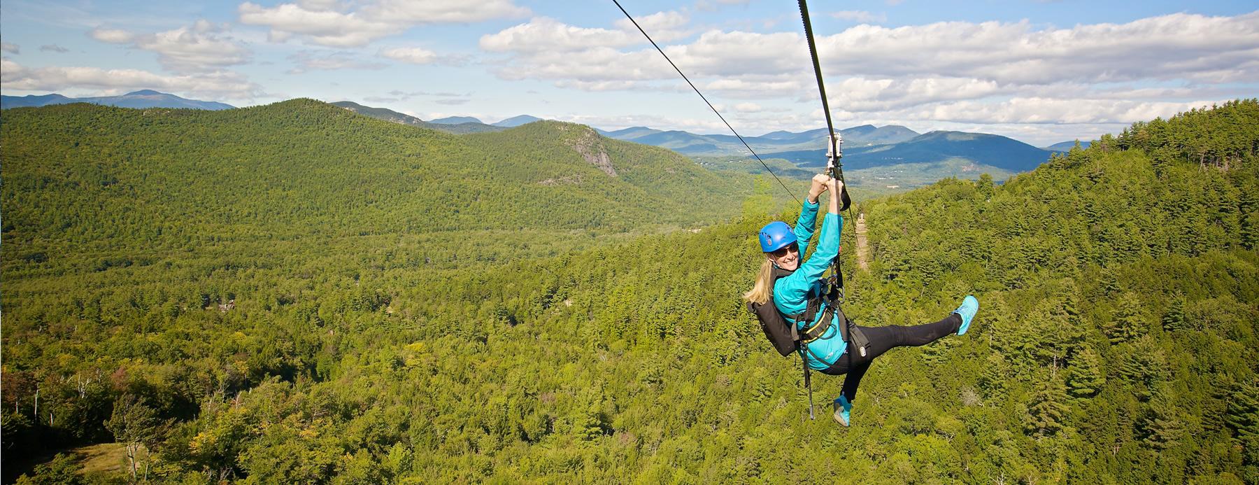 ziprider® at attitash mountain resort