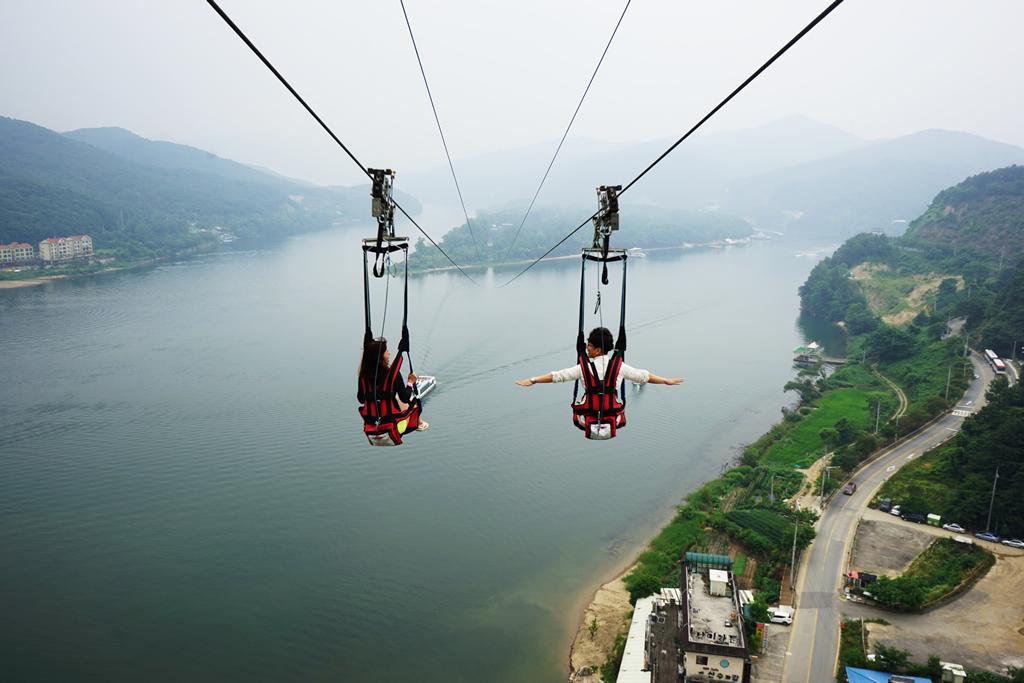Zip Line Harness >> Nami Skyline ZipWire ZipRider®