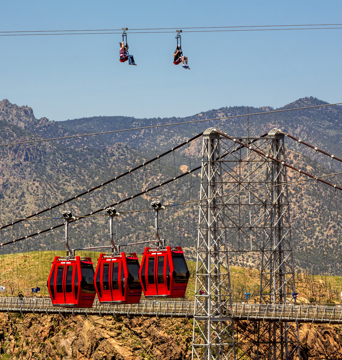 ZipRider Across The Royal Gorge In Colorado